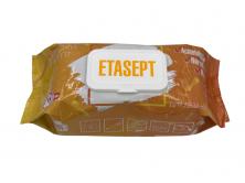 Серветки Етасепт (універсальні), 120 шт в м'якій упаковці
