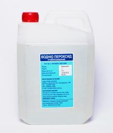 Перекись водорода (35-40%), канистра 5кг
