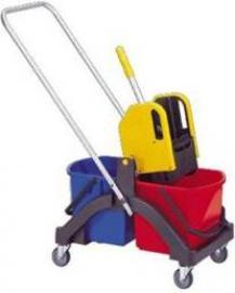 Візок для вологого прибирання AQUVA 2х17л